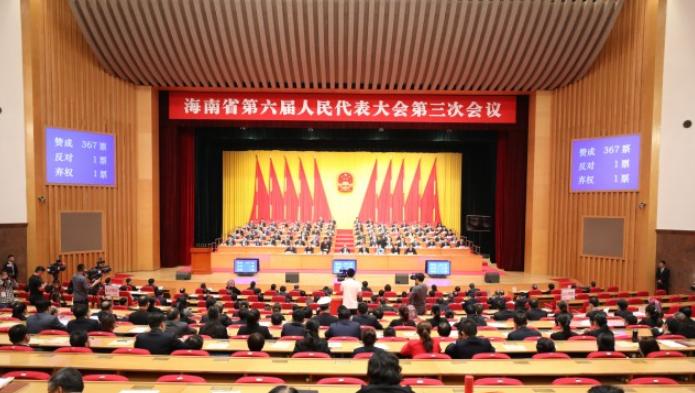 图集丨海南省六届人大三次会议胜利闭幕
