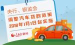 汽车贷款政策明年起调整 二手车贷款最高70%