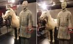 兵马俑在美展出时手指受损 陕西省文物局表示将追究美方相关部门责任