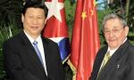 习近平向古共中央第一书记劳尔·卡斯特罗和古巴新任国务委员会主席兼部长会议主席迪亚斯·卡内尔致贺电