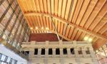 海口市民游客中心计划8月中旬投用 纯木屋顶亚洲最大