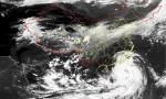 """台风红色预警!""""山竹""""将于16日下午到夜间在广东台山到湛江一带沿海登陆"""