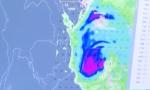 """台风""""桃芝""""对我省无太大影响 未来一周两股冷空气来袭"""