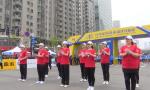 """""""军运方阵""""荣誉领跑本届马拉松  """"感动中国人物""""官东领衔热场"""