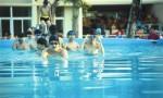 三亚一中游泳课