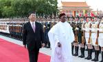 习近?#39556;?#34892;仪式欢迎尼日尔总统访华并同其举行会谈