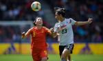 杨丽射门中柱 中国女足世界杯首战一球憾负德国