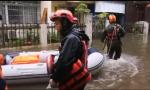 """现场视频!台风""""韦帕""""来袭 海口支队全力救援"""