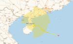 """""""韋帕""""已經離開海南島 海口發布暴雨橙色預警信號"""