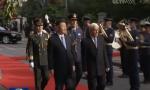 習近平出席希臘總統舉行的歡迎儀式