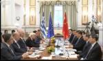独家视频 | 习近平和希腊总理米佐塔基斯共同参观中远海运比雷埃夫斯港项目