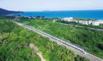 海南加开首趟三亚至岳阳进出岛旅客列车