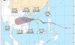 """台风三级预警!""""沙德尔""""将于24日夜间到25日凌晨擦过海南岛南部"""