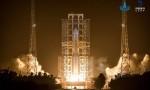 刘赐贵祝贺嫦娥五号探测器发射圆满成功