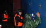 河南:雨中救援