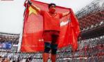 奧運賽場中國紅