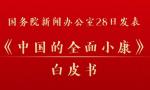 国务院新闻办发表《中国的全面小康》白皮书