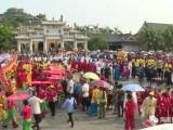 2017定安文筆峰軍坡文化節今天開幕 活動吸引數萬游客齊聚文筆峰 共享傳統文化盛宴