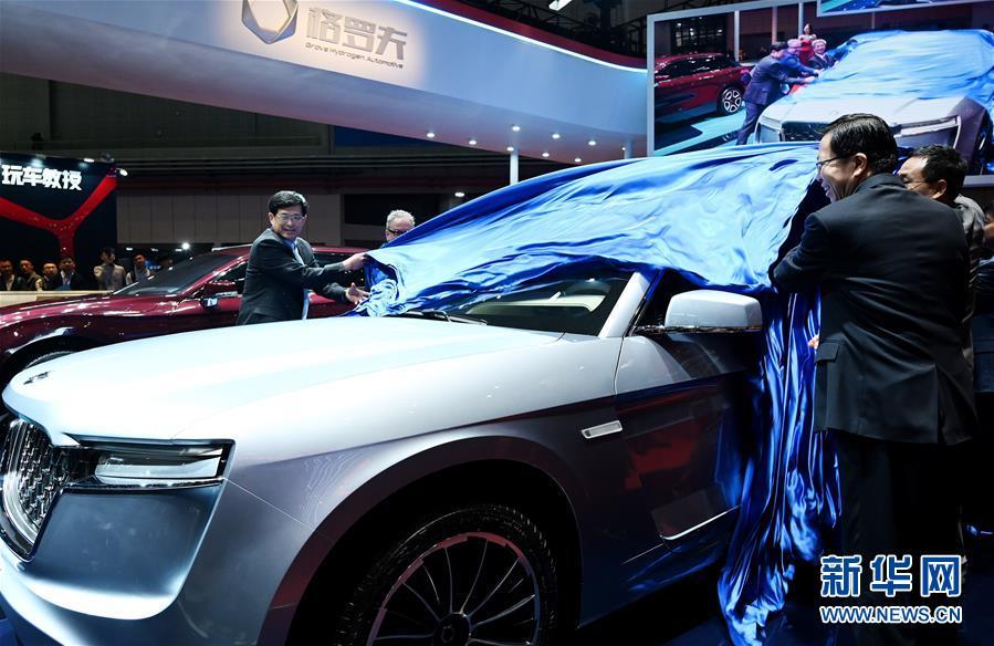 (經濟)(2)上海車展:新能源車勢頭旺