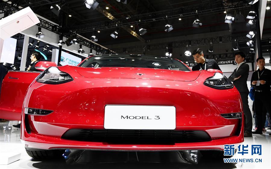 (經濟)(4)上海車展:新能源車勢頭旺