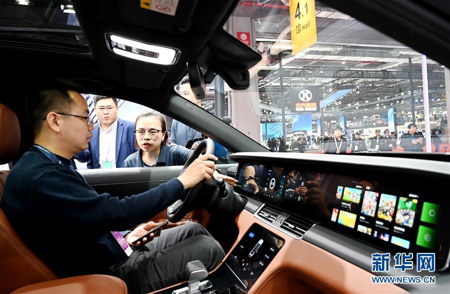 (經濟)(6)上海車展:新能源車勢頭旺