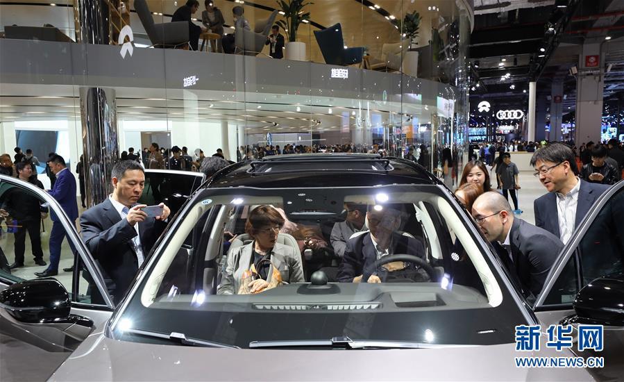 (經濟)(1)上海車展:新能源車勢頭旺