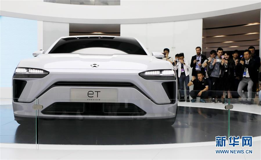 (經濟)(3)上海車展:新能源車勢頭旺