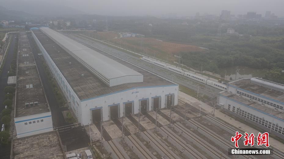 探访广西桂林动车所