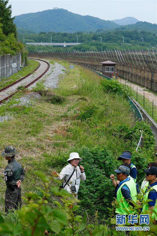 """(國際)(1)探訪韓朝邊境""""非軍事區和平之路"""""""