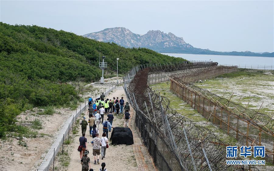 """(國際)(7)探訪韓朝邊境""""非軍事區和平之路"""""""