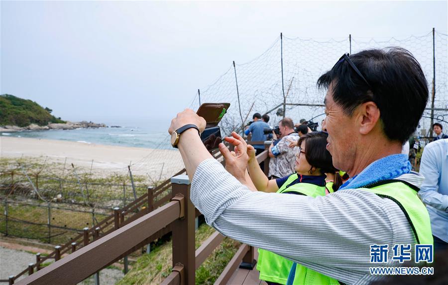 """(國際)(3)探訪韓朝邊境""""非軍事區和平之路"""""""