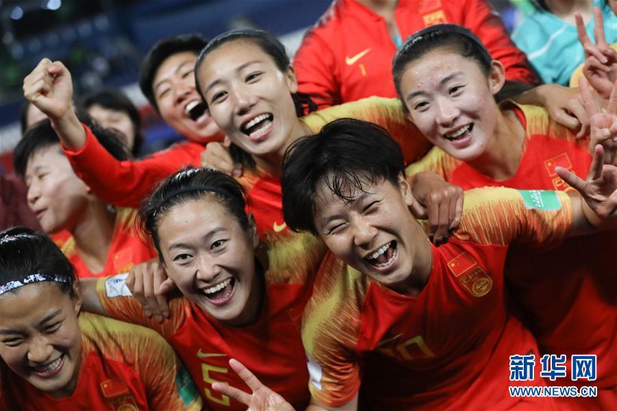 (女足世界杯)(3)足球——B组:中国队战胜南非队