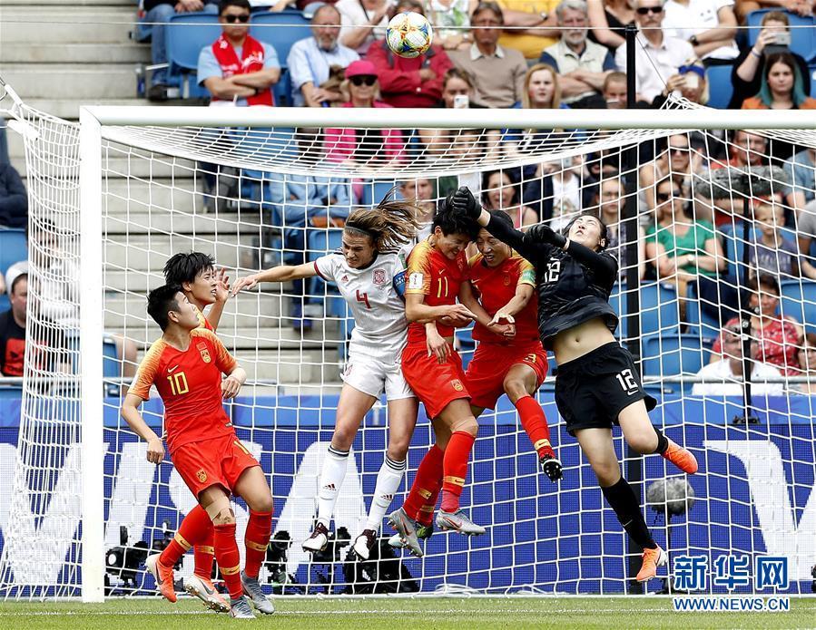 (女足世界杯)(2)足球——中國隊小組出線