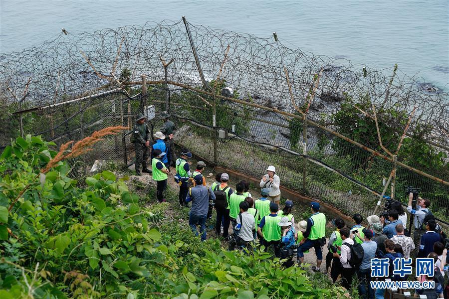 """(國際)(5)探訪韓朝邊境""""非軍事區和平之路"""""""