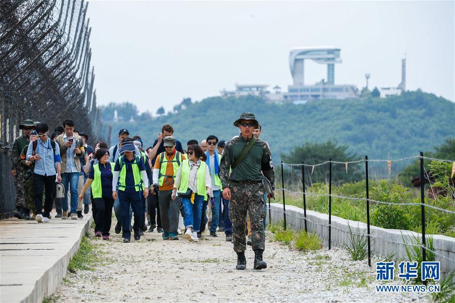 """(國際)(4)探訪韓朝邊境""""非軍事區和平之路"""""""