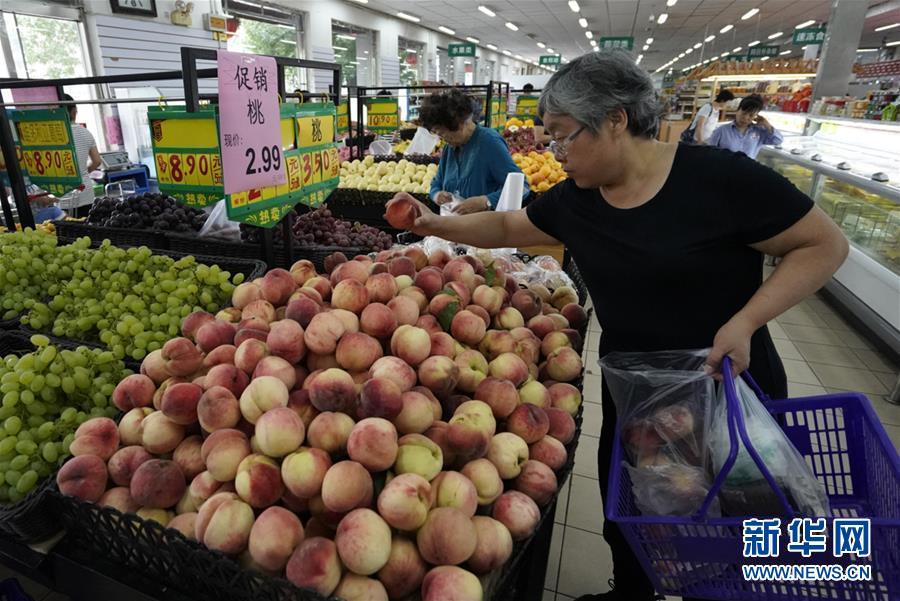 (经济)(1)6月份全国居民消费价格同比上涨2.7%