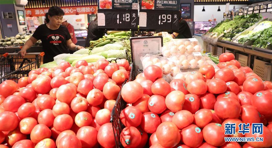 #(经济)(6)6月份全国居民消费价格同比上涨2.7%