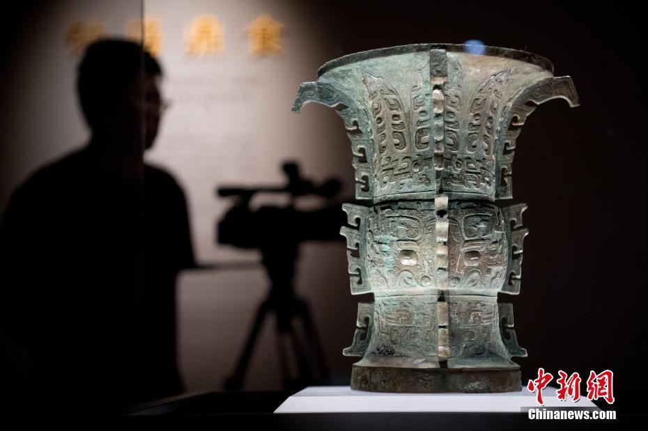 """山西警方境外追回西周时期青铜重器""""义尊""""和""""义方彝"""""""