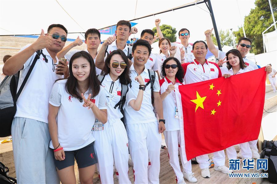 (大运会)(5)跳水——中国队获得男、女团体金牌