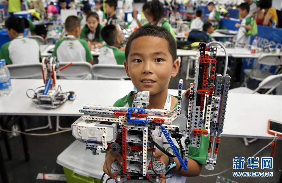 (科技)(7)世界機器人大賽冠軍賽在京舉行
