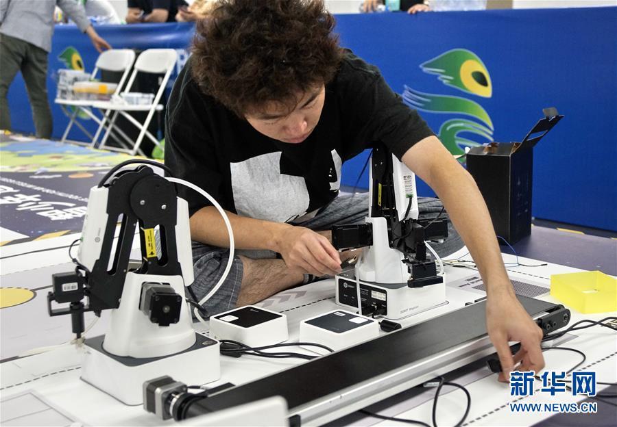(科技)(5)世界機器人大賽冠軍賽在京舉行