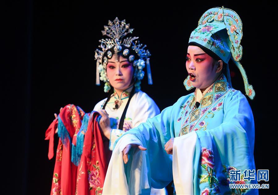 (文化)(3)江苏昆山:汇中国百戏 展戏曲新颜