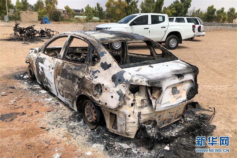 (国际)(4)伊拉克北部一球场遭迫击炮袭击致5死20伤