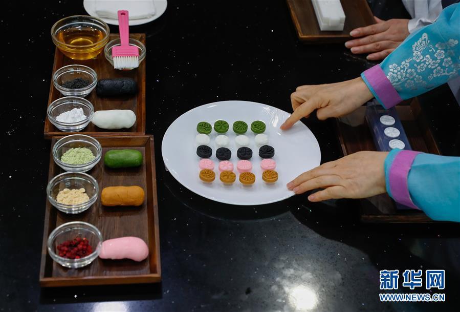 """(国际)(4)""""迎中秋""""世界各地传统糕点系列——韩国松饼和茶食"""