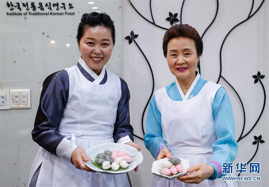 """(国际)(1)""""迎中秋""""世界各地传统糕点系列——韩国松饼和茶食"""