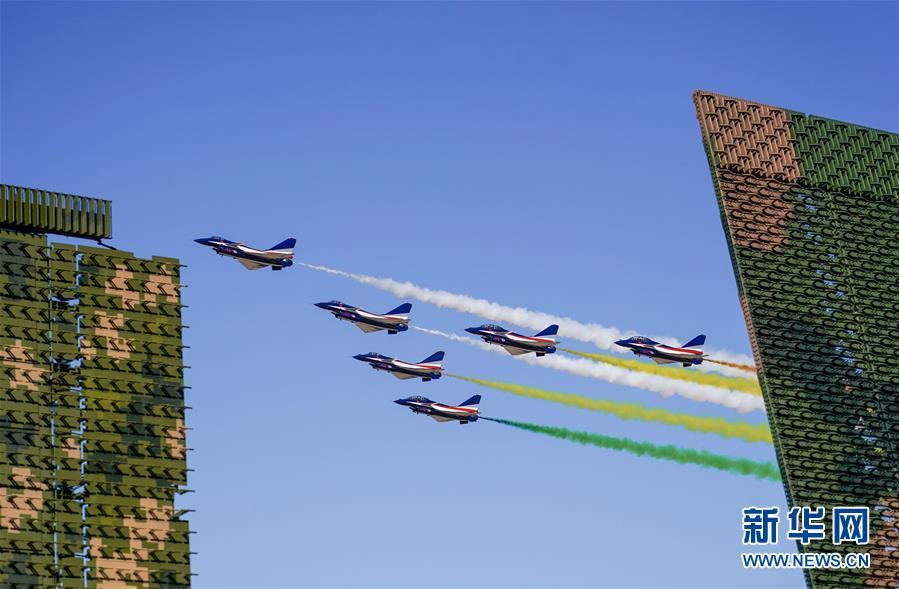 (图文互动)(1)空军航空开放活动向老百姓展现强国兴军之美