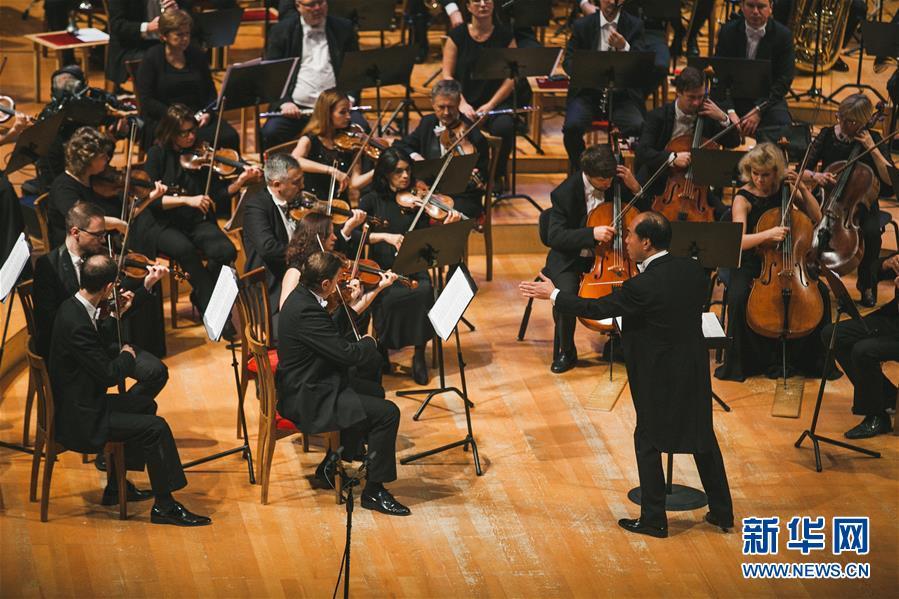 """(国际)(3)俄罗斯马林斯基剧院上演""""中国之夜""""音乐会"""