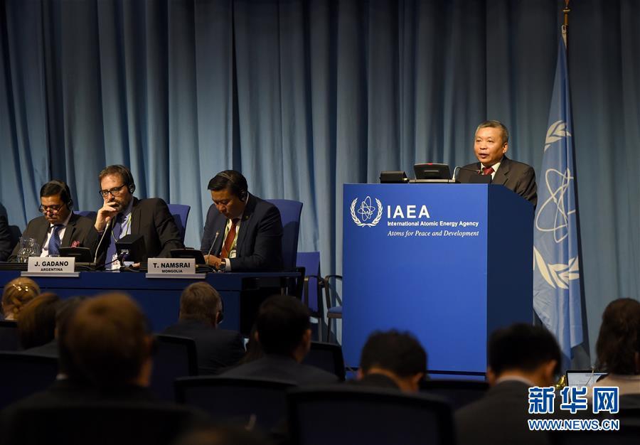 (国际·图文互动)(2)中国代表:应对气候变化,核能作用不可或缺