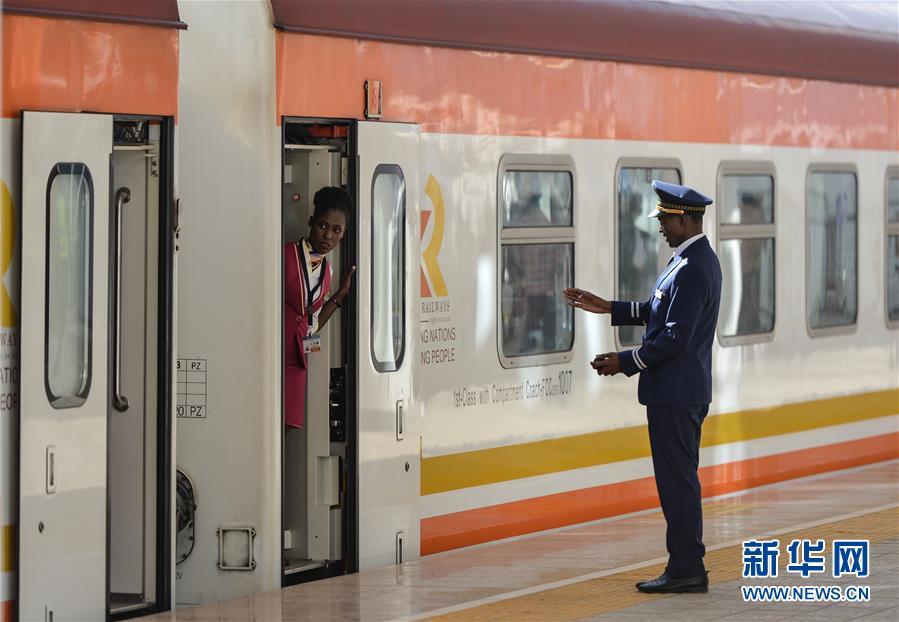 (国际)(5)中企承建的肯尼亚内马铁路一期通车