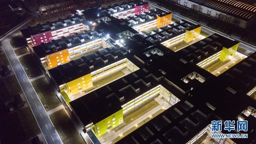 (聚焦疫情防控)(1)北京小汤山医院启用 设千张床位